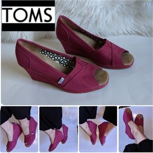 TOMS Women's Wedges Size 9